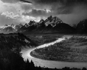 Ansel Adams: The Tetons and the Snake River