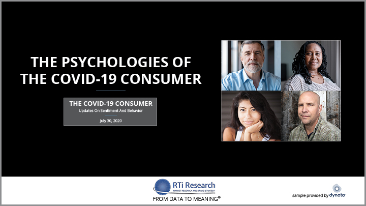 The Covid19 Consumer July 20, 2020 RTi Research